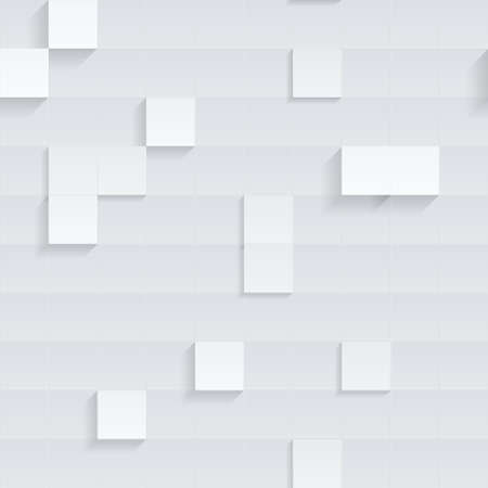 Seamless 3D Square Cube Background.