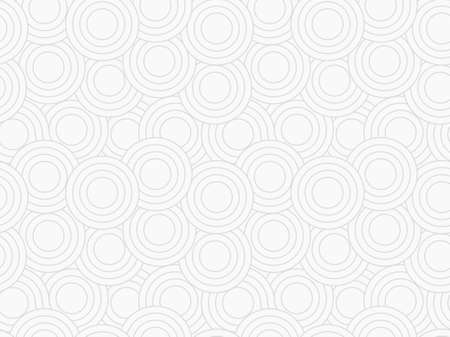 Vector seamless background with rings. Light clean cover. Repeating abstract pattern. Can be used as swatch in Illustrator.