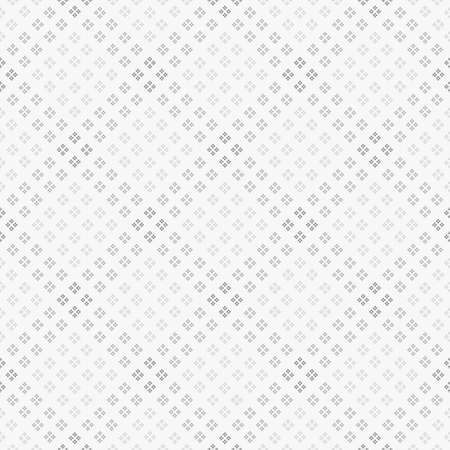 Seamless vector texture. Rhombuses consisting of rhombuses, in four gradations of gray Stock Illustratie