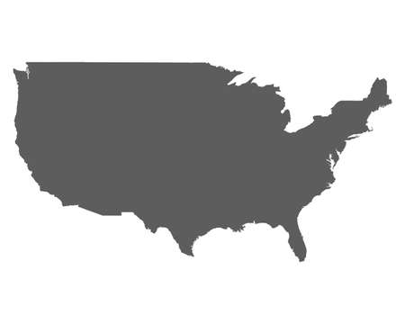 High level detailed map USA. Very accurate map layout satellite. Traced all the islands.