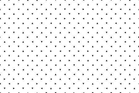 White seamless texture. Cool wallpaper. Vector background. Dotted arrows. Random chaotic cursors