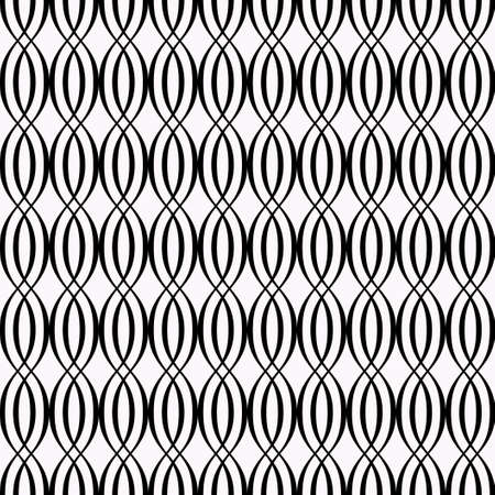 Vector seamless geometric wave texture. Simple stylish ornament. Modern pattern.