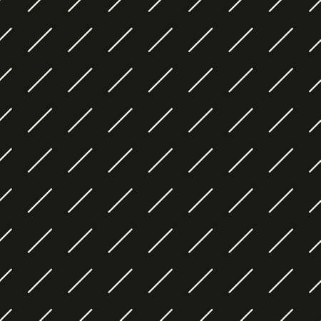 Seamless monochromatic modern pattern. Vector stylish minimalistic background. Simple cool texture of dotted rounded lines.