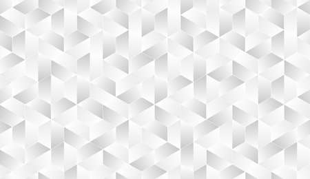 White texture, seamless abstract polygonal cool background