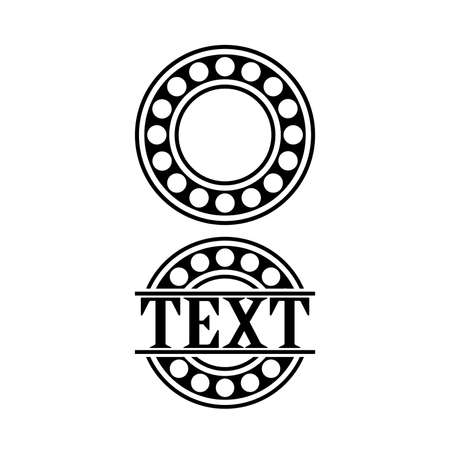bearing. with space for text