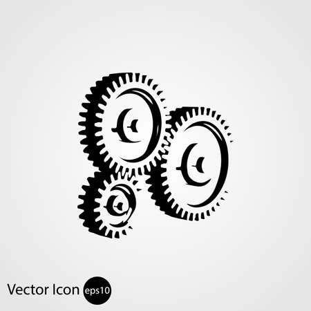 pinion gear icon. Vector illustration pinion gear icon. Vector illustration Ilustrace