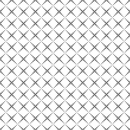 White seamless texture. Vector background. Ilustrace