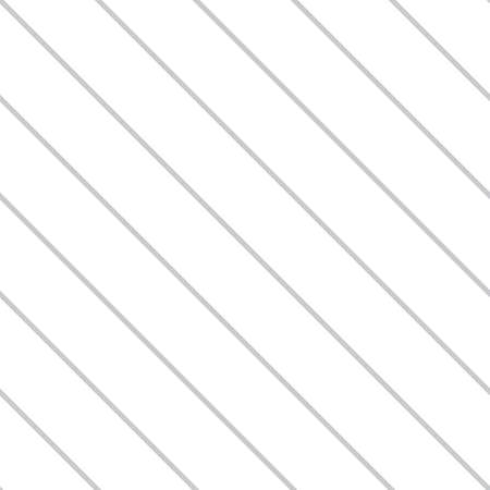Striped seamless pattern with diagonal thin gray lines. Ilustrace
