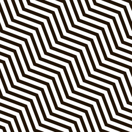 Seamless zigzag pattern. Diagonal loop background. Vector Ilustrace