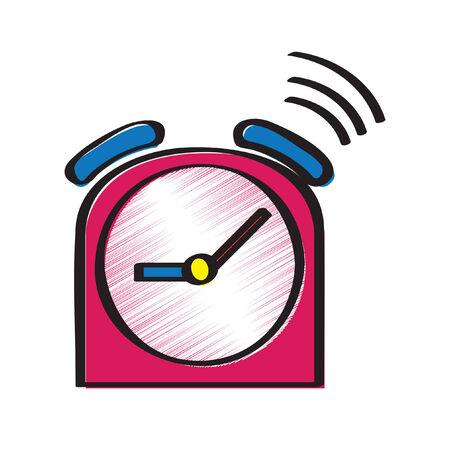 Illustration of an alarm clock