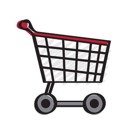 Illustration of a trolley Stock fotó - 30932813