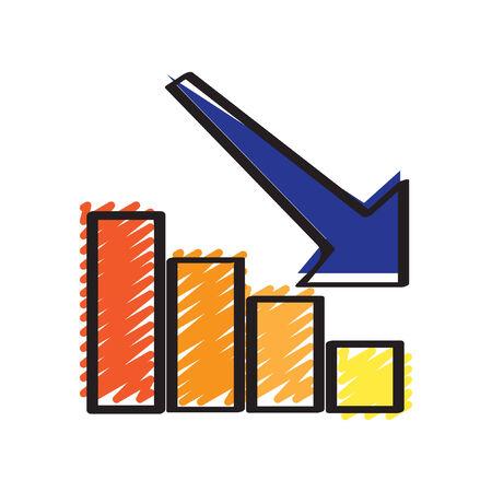 staaf diagram: Illustratie van een staafdiagram