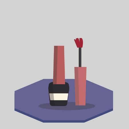 polish: Illustration of nail polish