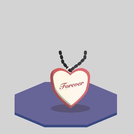 Illustration of a pendant