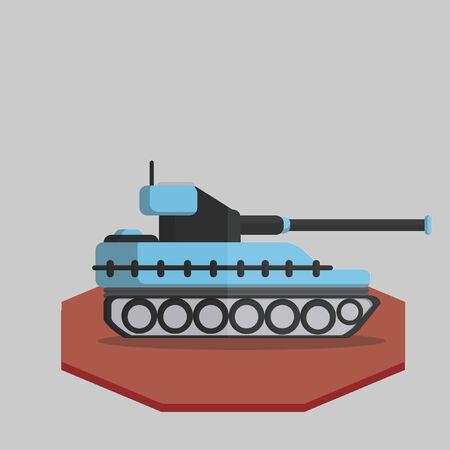 Illustration of a tank Vector