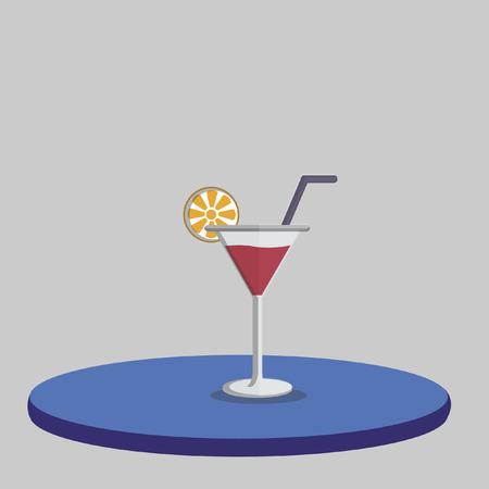 unwind: Illustration of a drink