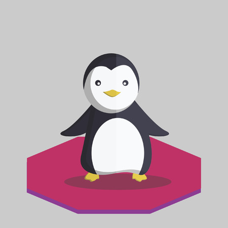 Illustration of a penguin Vector