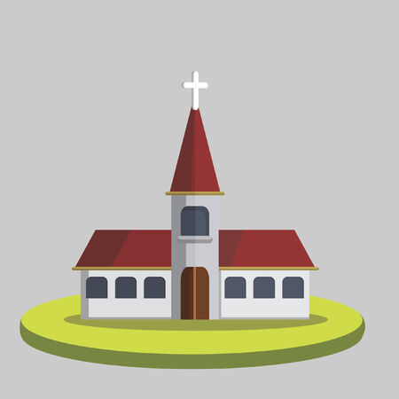 Illustration of a church