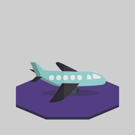Illustration of an aeroplane Vector