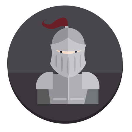 Illustration of a knight Иллюстрация