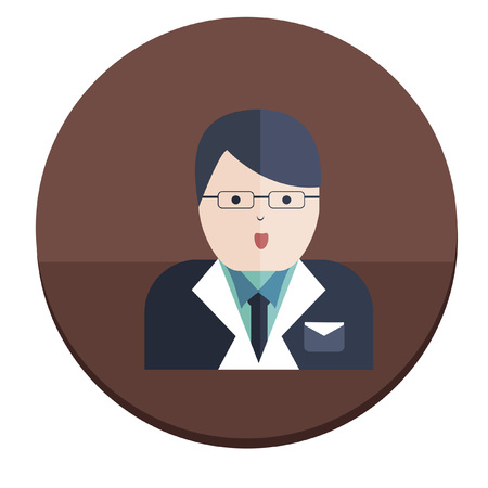 Illustration of a businessman