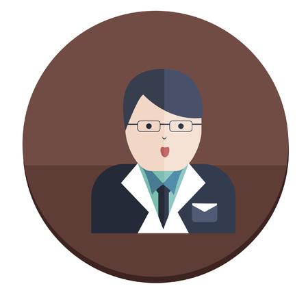 formalwear: Ilustraci�n de un hombre de negocios Vectores