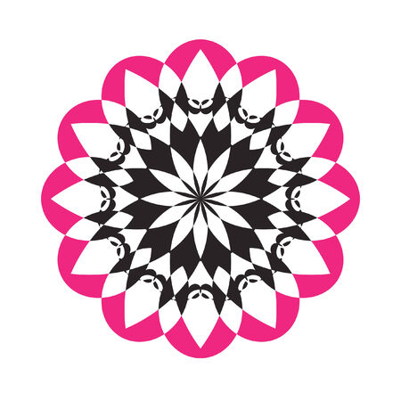 Abstract cirkelvormig ontwerp Stock Illustratie