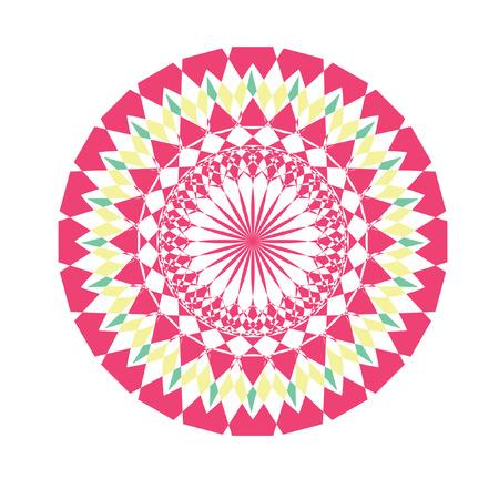 Kort cirkelvormige ontwerp