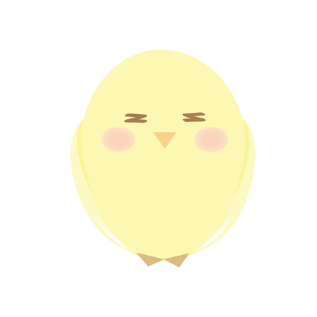 chick: A cute chick Illustration