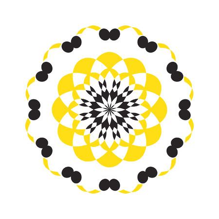 Abstract circular design