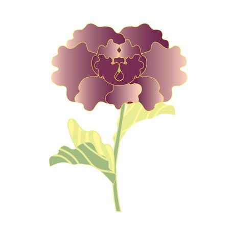 A stalk of flower