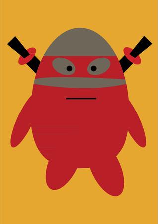 Weird monster Ilustrace