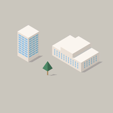 Government buildings Vettoriali
