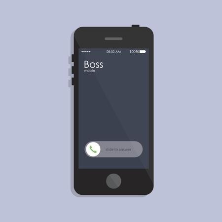 caller: Caller ID showing on smart phone