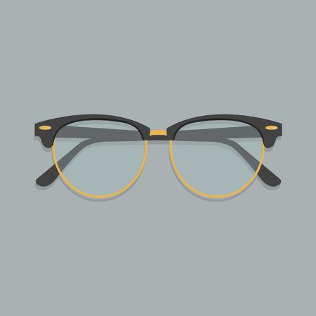 miopia: Occhiali Vettoriali