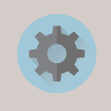 Cogwheel Иллюстрация