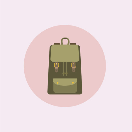 Backpack Illustration