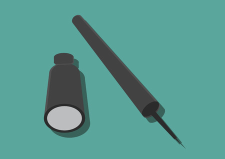 Vector of an eyeliner