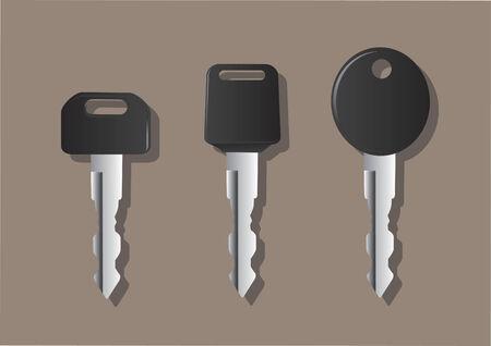Vector de llaves Foto de archivo - 31572598