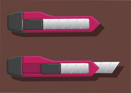 Vector of blade cutter 向量圖像