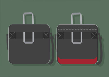 Vector of laptop bags Illustration