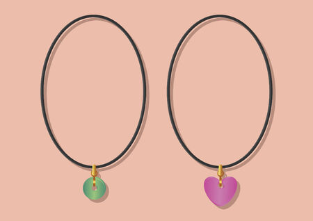Vector of necklaces