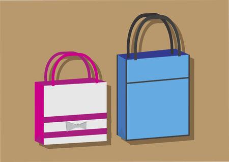 ショッピング バッグのベクトル