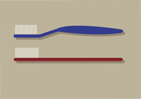 Vector of toothbrushes Stock fotó - 31572138