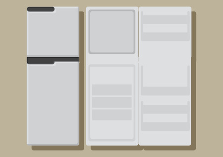 Vector of a refrigerator