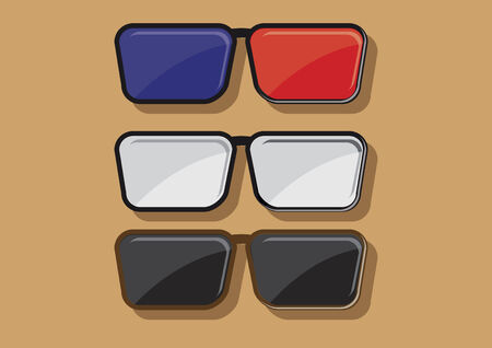 spectacle frame: Vector of spectacle frames