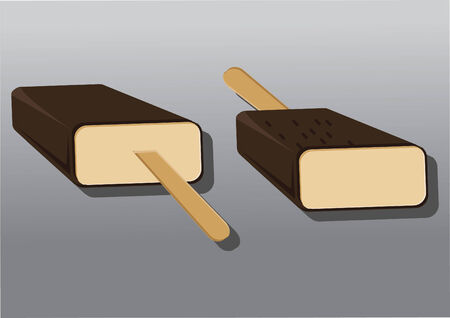 indulgence: Vector of ice creams Illustration