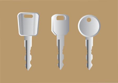 Vector of keys