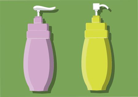 Vector of soap dispenser