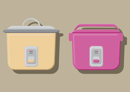 rice cooker: Vector of rice cooker
